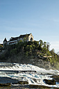 Switzerland, Schaffhausen, Rhine falls with Laufen Castle - ELF000978