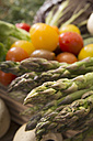 Green asparagus and tomatoes - CSTF000354