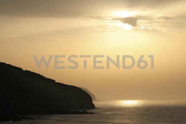 Spain, Bilbao, Coast, Sunset - MKLF000025