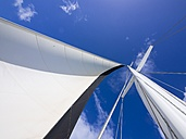 Sail and rig of a sailing yacht - AMF002245