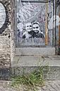 Germany, Berlin, Streetart at wall - MKL000023