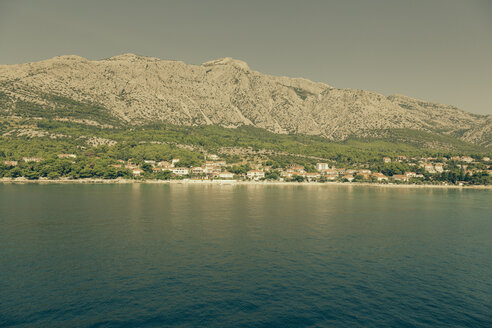 Croatia, View from Korcula to Peljesac peninsula - MEMF000003