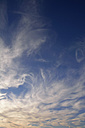 Germany, Bavaria, White clouds and blue sky - AXF000679