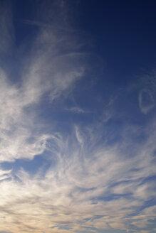 Germany, Bavaria, White clouds and blue sky - AXF000679