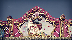 Germany, top of children's carrousel - HOH000806