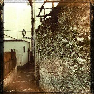 Italy, Campania, Amalfi Coast, Alley - STE000059