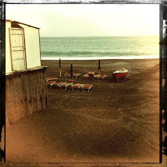 Italy, Campania, Amalfi Coast, Maiori beach - STE000065