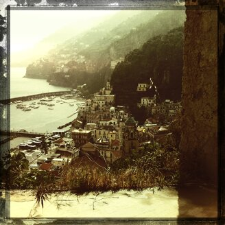 Italy, Campania, Amalfi Coast, Amalfi, townscape - STE000079