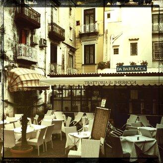 Italy, Campania, Amalfi Coast, Amalfi, Restaurant - STE000005
