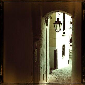 Italy, Campania, Amalfi Coast, Amalfi, Alley - STE000019
