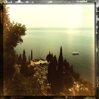 Italy, Campania, Amalfi Coast, Positano, cemetery - STE000035