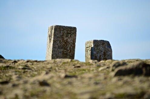 Germany, Baden-Wurttemberg, Freiburg, Schauinsland, Boundary stones - MHF000305