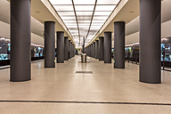 Germany, Berlin, modern architecture of  subway station Brandenburger Tor - NKF000113