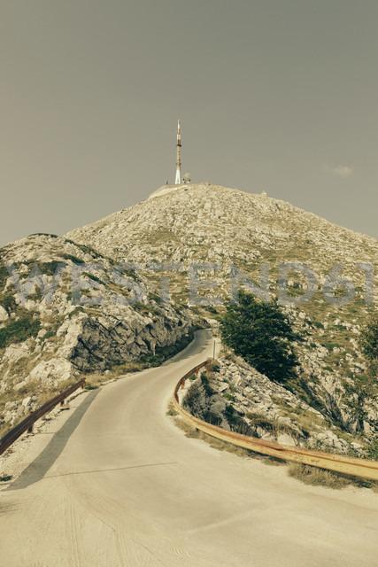 Croatia, Dalmatia, Biokovo, Mountain road at Sveti Jure - MEMF000054