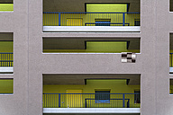 Facade of modern multi-family house - TCF004080