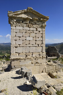 Turkey, Antalya Province, Pisidia, Reconstructed antique Heroon at the archaeological site of Sagalassos - ES001152