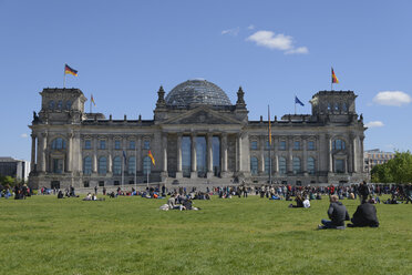 Germany, Berlin, Reichstag - HHEF000078