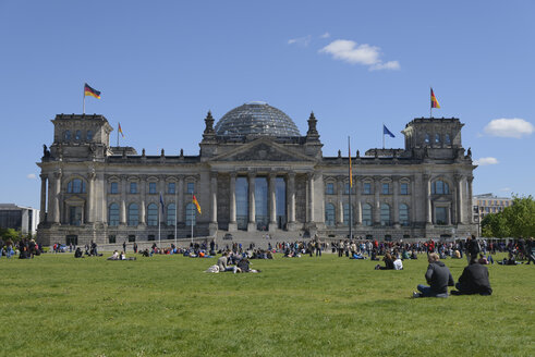 Germany, Berlin, Reichstag - HHEF000078