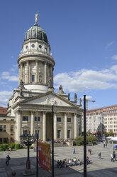 Germany, Berlin, Gendarmenmarkt, French Cathedral - HHE000085