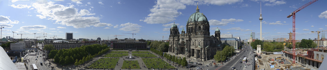 Germany, Berlin, Berlin Cathedral, panorama - HHEF000088