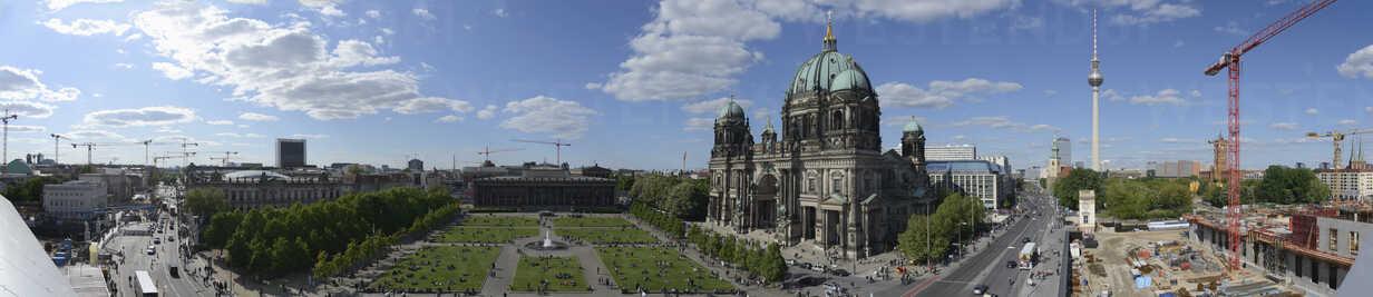 Germany, Berlin, Berlin Cathedral, panorama - HHEF000088 - Harald Hempel/Westend61