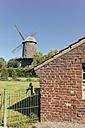 Germany, North Rhine-Westphalia, Werth, Tower mill - MEMF000133