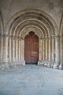 Germany, North Rhine-Westphalia, Coesfeld, portal of  St. Jacob's Church - MEM000146