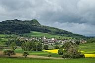 Germany, Baden-Wuerttemberg, Constance district, Hegau, Weiterdingen, Hohenstoffeln - ELF001039