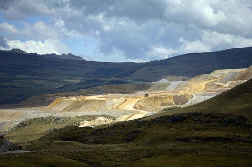 South America, Peru, Cajamarca Region, Cajamarca, Gold mine Yanacocha - FLK000217