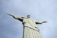 Brazil, Rio de Janeiro, Corcovado, Jesus Christ the Redeemer statue - FLK000282