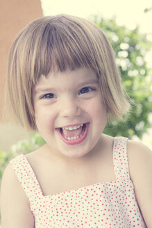 Portrait of laughing little girl - LVF001353
