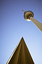 Germany, Berlin, Alexanderplatz, Berlin TV Tower and roof - ZMF000289