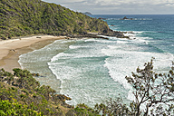 Australia, New South Wales, Byron Bay, Broken Head nature reserve, view over bay - SHF001355