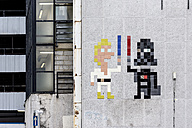 England, London, Shoreditch, Holywell Lane, street art of French artist Invader - WE000120