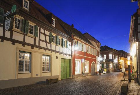 Germany, Rhineland-Palatinate, Freinsheim, Old town, Houses - GWF002873