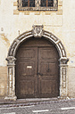 Italy, South Tyrol, Magreid, Entrance gate - GW002897