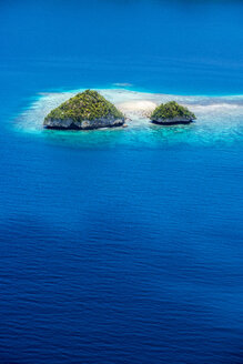 Micronesia, Palau, small islands in the ocean - JWAF000059