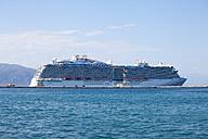 Greece, Corfu, Cruise ship Regal Princess - AJ000050