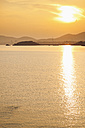 Spain, Majorca, sunset over the Mediterranean Sea - MEM000171