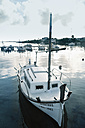 Spain, Menorca, boats in harbor - MEM000181