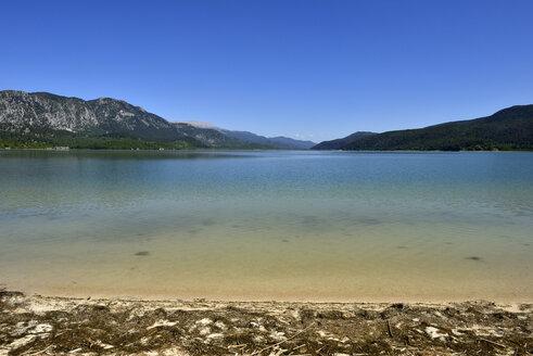 Turkey, Isparta Province, Pisidia, Taurus Mountains, Beach at Kovada Lake National Park - ES001191