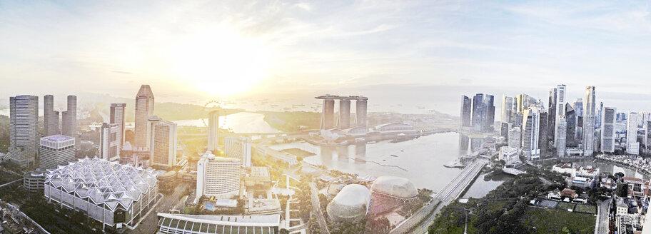 Panoramic Skyline Singapore, Singapore - BMA000003