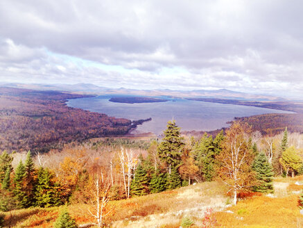 Valley with lake, Rangeley, Maine, USA - BMA000008