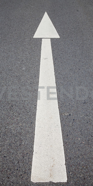 Road marking, Arrow - WIF000769
