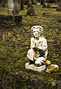 Germany, Bavaria, Munich, Old grave yard, Statue without hands - FC000239