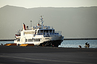Greece, Ionic Islands, Corfu, tourist ferry at the main port - AJ000059