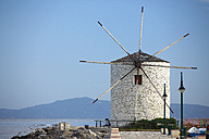 Greece, Ionic Islands, Corfu, view to old windmill - AJF000062