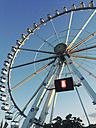 Ferris wheel in HafenCity in the evening light, HafenCity, Hamburg, Germany - SEF000703