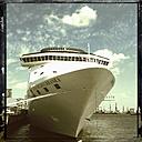 Cruise ship Costa Mediterranea, moorage, Hamburg Cruise Center Alrona, Germany - SE000721