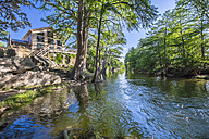 USA, Texas, Vacation Home at the Frio River - ABAF001383